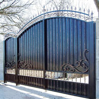 Ворота и калитки заборов