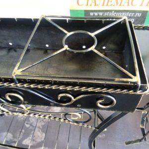 подставка на мангал для сковороды